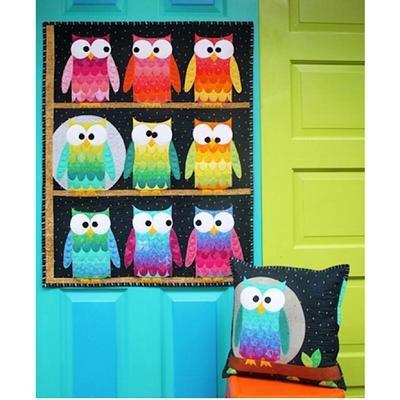 51356QK Hootsville Row Quilt Kit