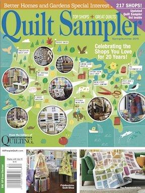Quilt Sampler Magazine Spring/Summer 2015