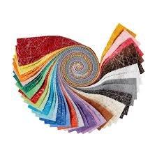 2 1/2 Strips Diamond Dust by Windham Fabrics 40 pcs
