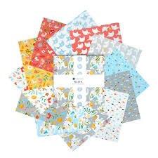 10 squares Ellie by Windham Fabrics