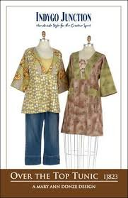 Over the Top Tunic Pattern by Indygo Junction