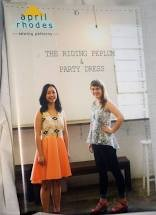 The Riding Peplum & Party Dress Pattern by April Rhodes