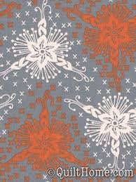 AH42 Gray/Orange LouLouThi by Anna Maria Horner