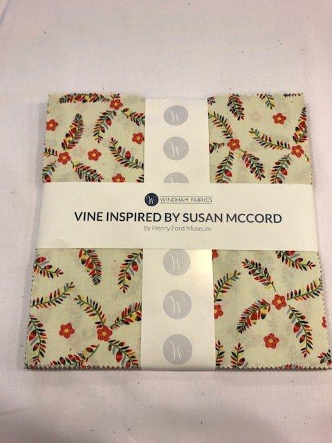 10 squares Vine by Windham Fabrics