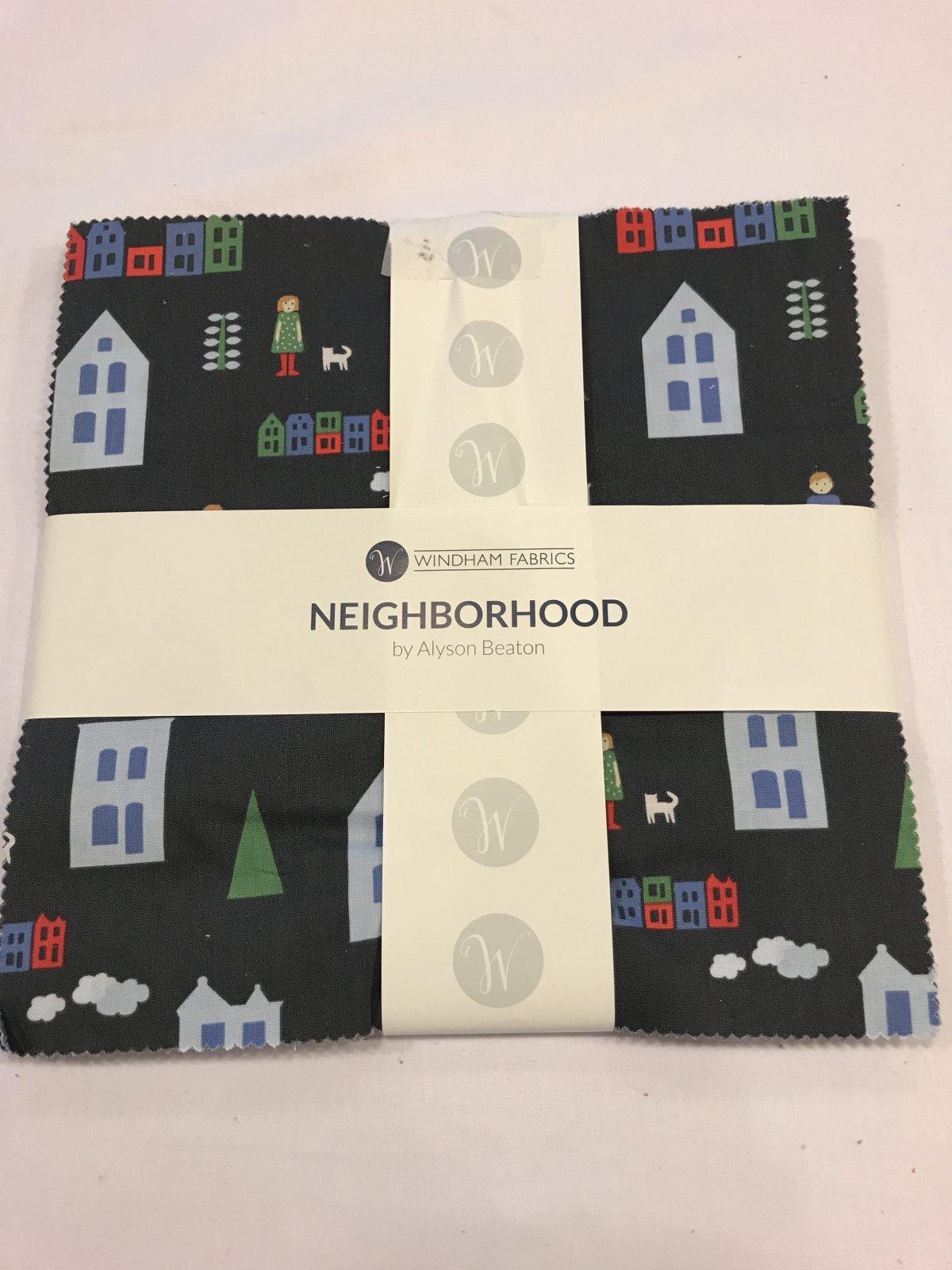 10 squares Neighborhood by Windham Fabrics