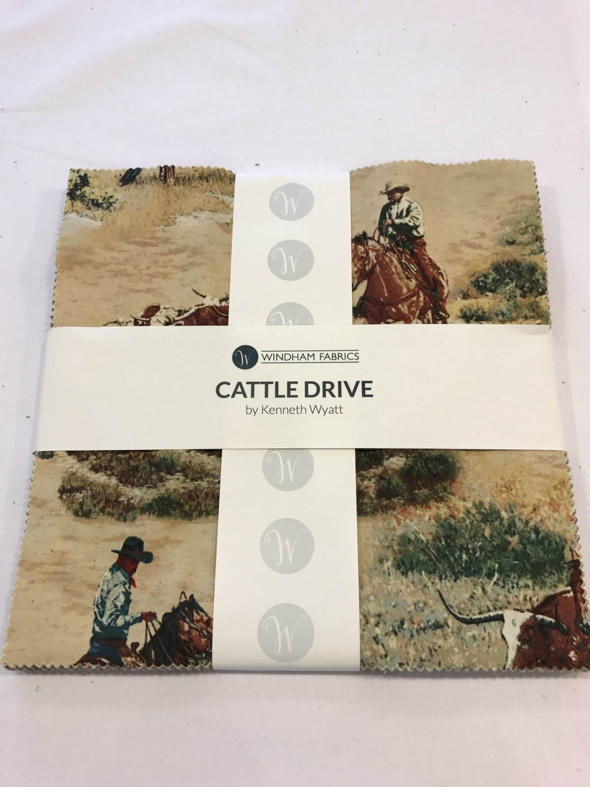 10 squares Cattle Drive by Windham Fabrics