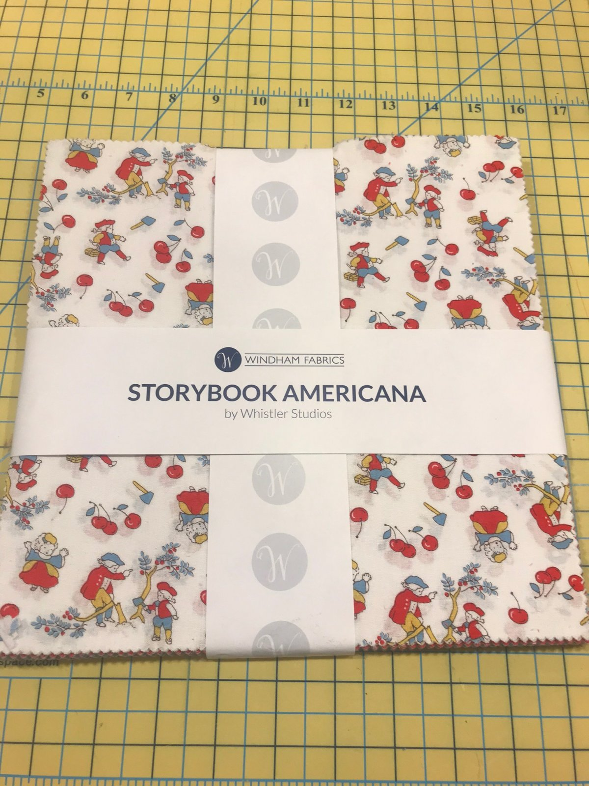 10 squares Storybook Americana by Windham Fabrics