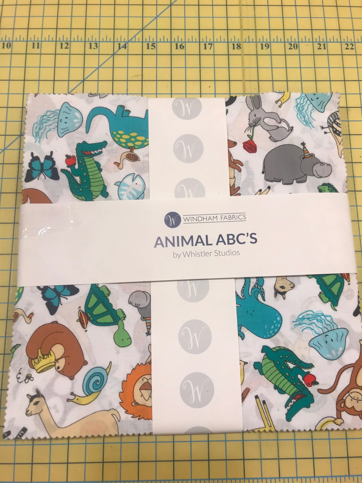 10 squares Animal ABC's by Windham Fabrics