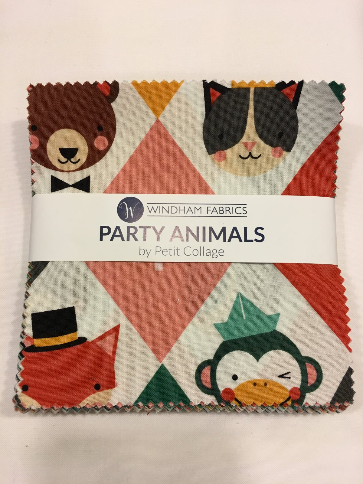 Party Animals by Windham Fabrics 5 Squares