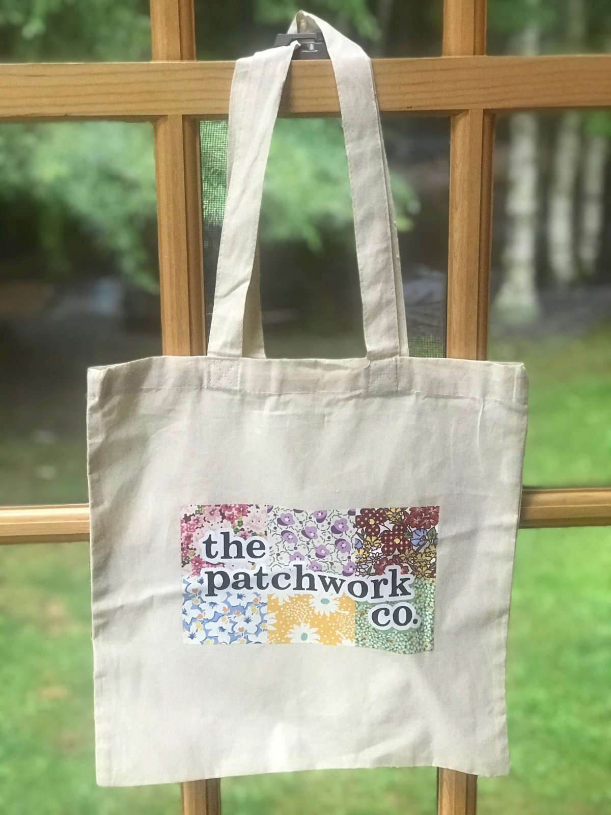 The Patchwork Co Canvas Tote Bag