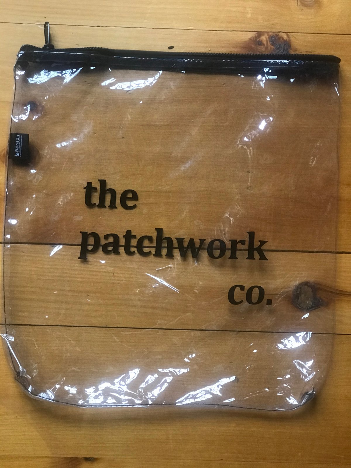 The Patchwork Co Project Bag