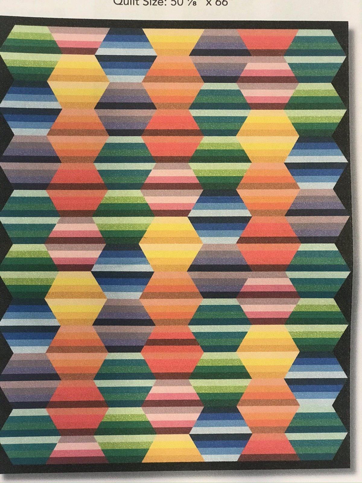 Bedrock Hexagon Quilt Kit