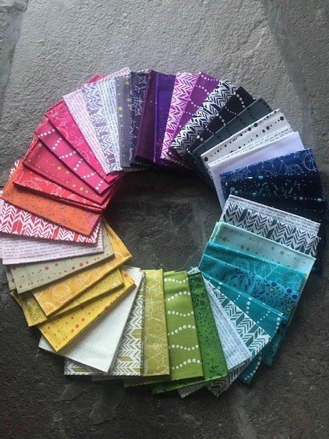 Sunprint Fat Quarter 42 pcs by Alison Glass for Andover Fabrics