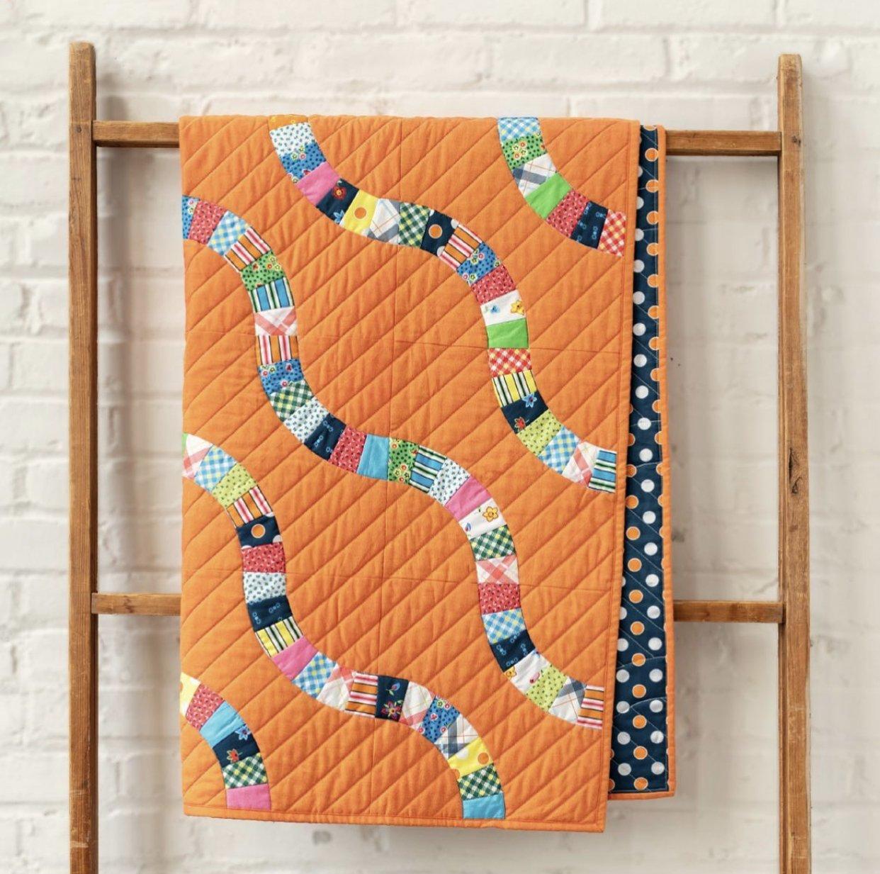 STQKFT Snake Trails Quilt Kit by Denyse Schmidt for Windham Fabrics
