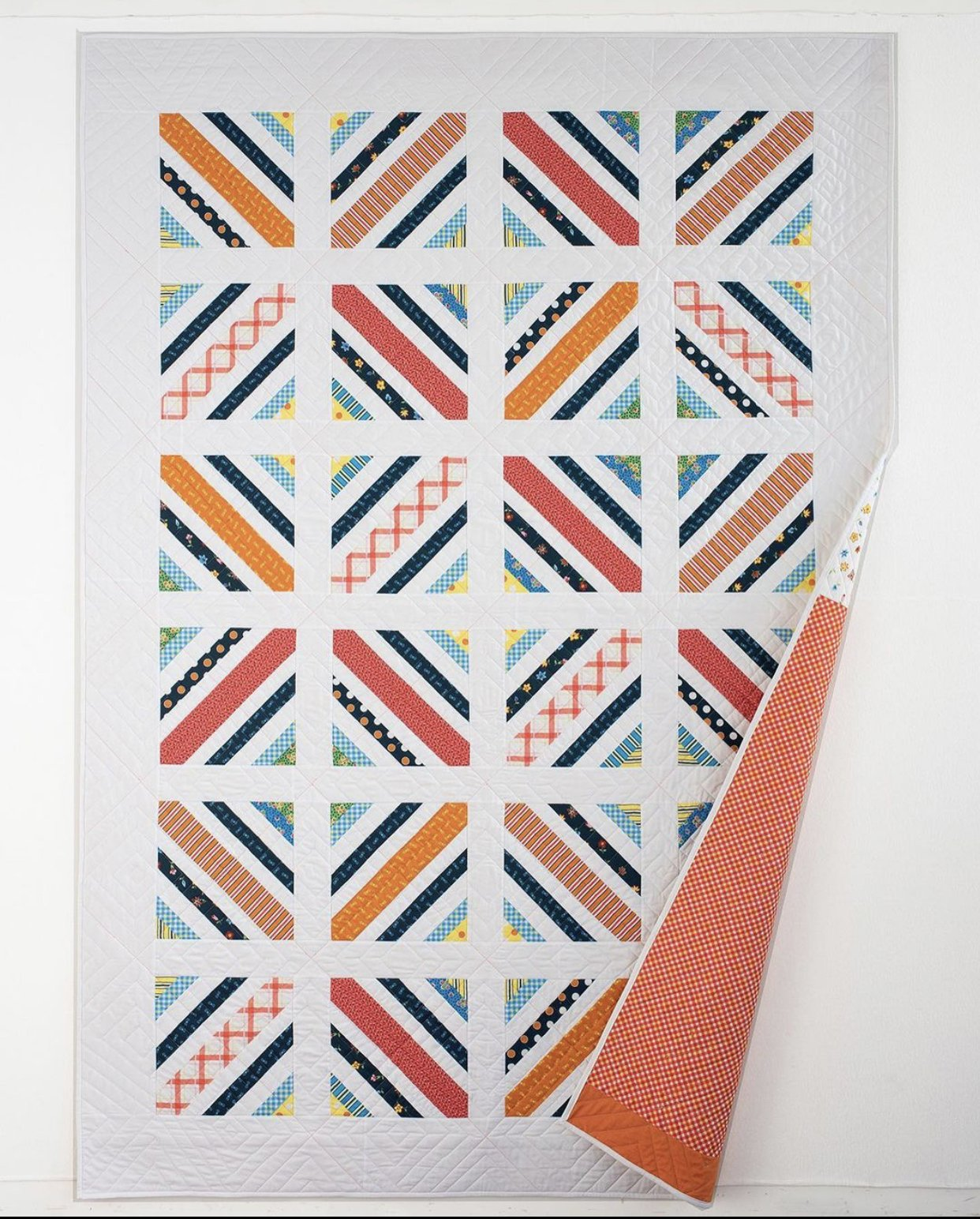 BTLQKFT Between the Lines Quilt Kit by Denyse Schmidt for Windham Fabrics