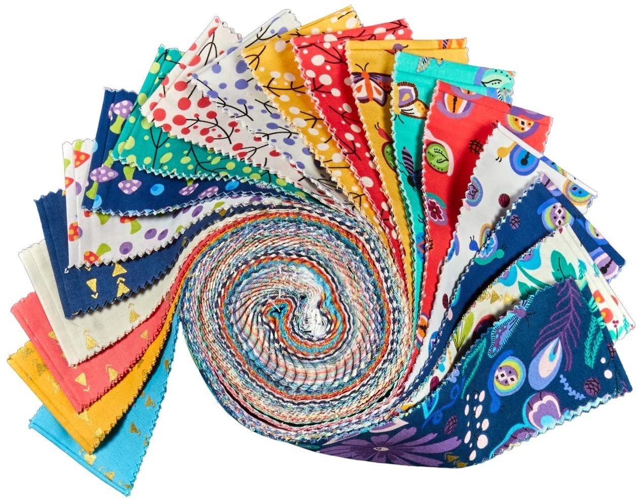2 1/2 Strips Juniper by Jessica VanDenburgh for Windham Fabrics