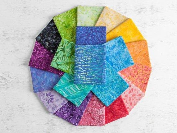 2 1/2 Strips Kaleidoscope by Boundless Batiks