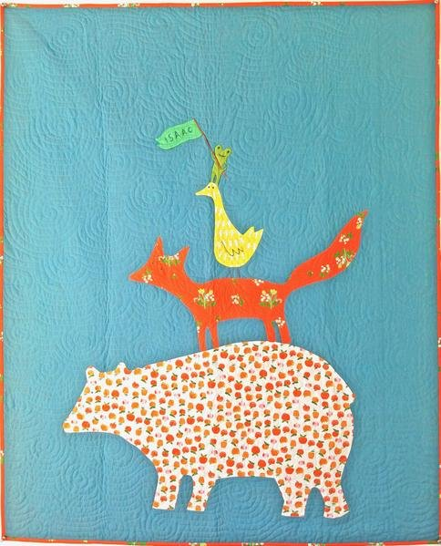 50293QK Jon's Animal Quartet Quilt Kit
