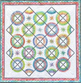 La Vie est Belle Quilt Kit designed by Jacqueline de Jonge