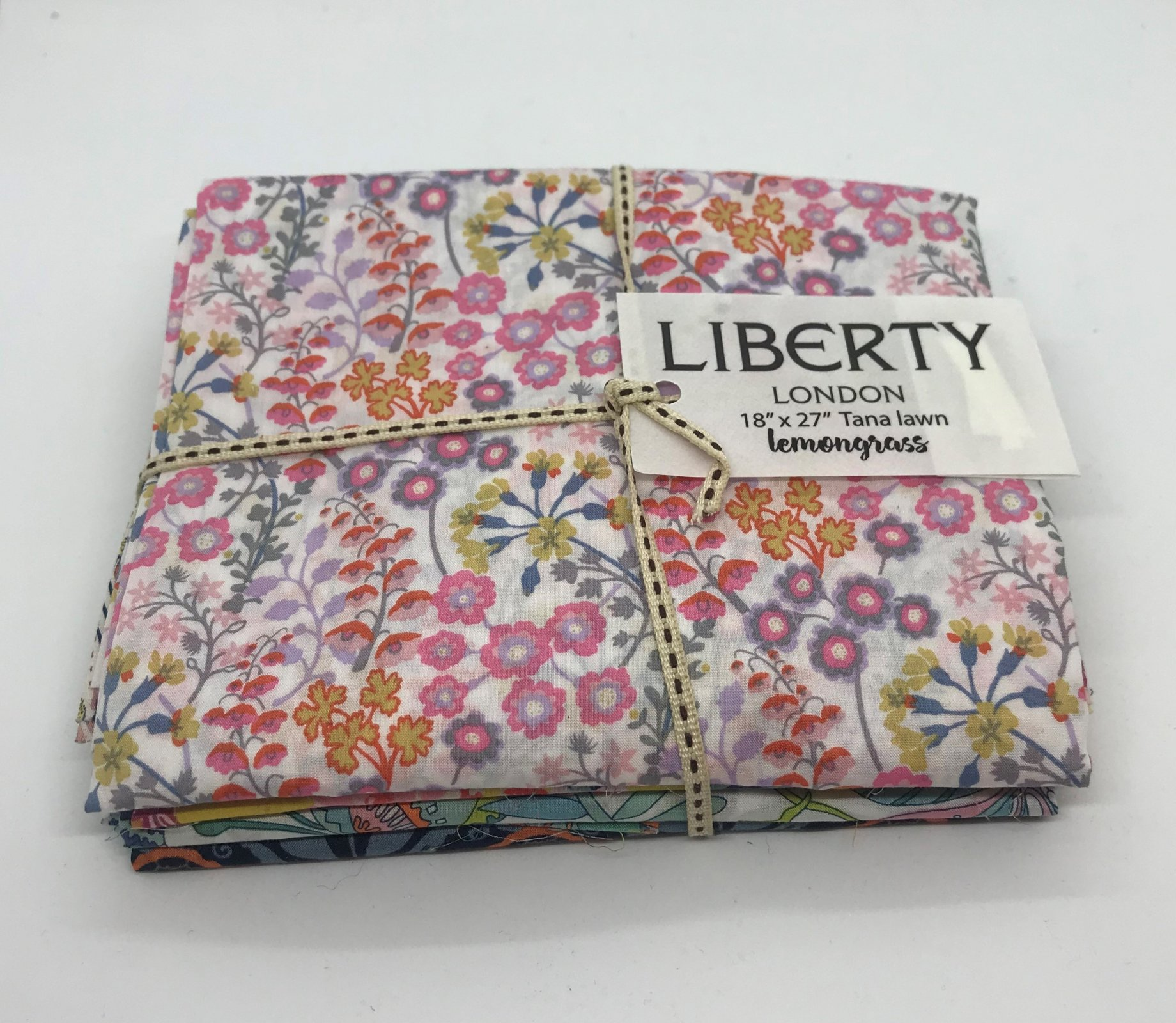 LOLFQL Liberty of London Fat Quarter Lemongrass Bundle