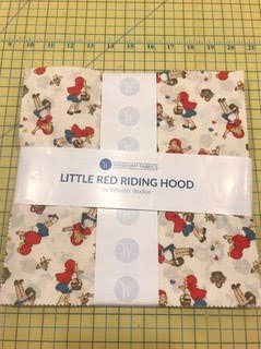 10 squares Little Red Ridinghood by Windham Fabrics