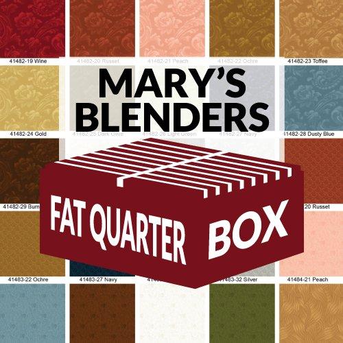 FQBOXMB Mary Blenders Fat Quarter Box by Windham Fabrics
