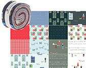 2 1/2 Strips Neighborhood by Alyson Beaton for Windham Fabrics
