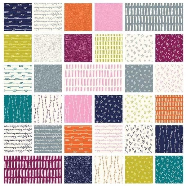 2 1/2 Strips Notepad by Windham Fabrics