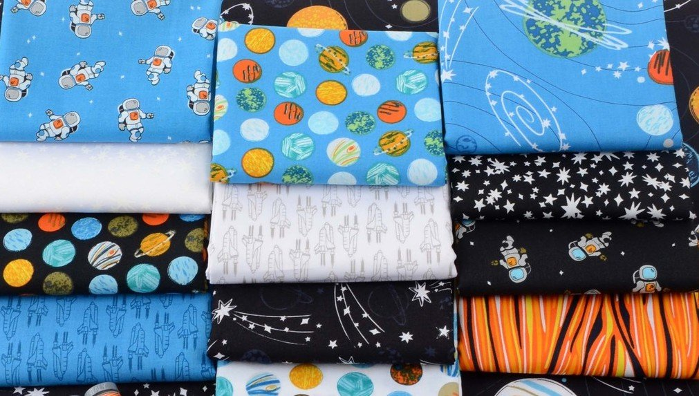 Out of this World Fat Quarter Bundle 19 pcs by Windham Fabrics