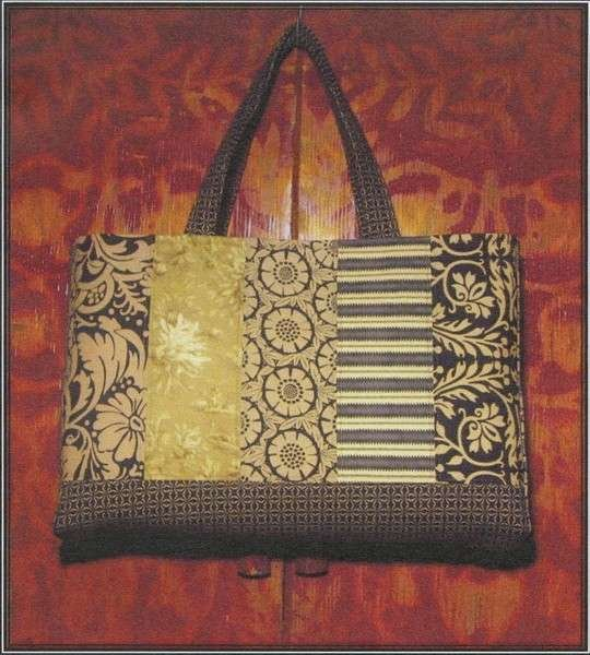 QDP054 San Clemente Tote by A Quilter's Dream