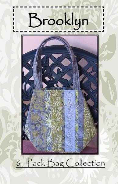 QDP113 Brooklyn Bag by A Quilter's Dream