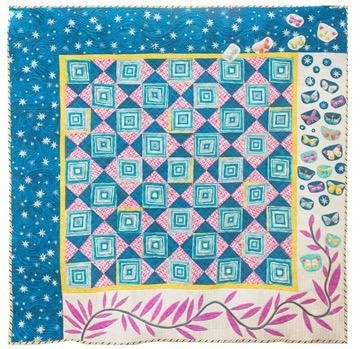 50930QK Room To Wonder Quilt Kit