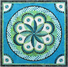 Spring Fever Quilt Kit designed by Jacqueline de Jonge