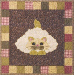 SQ07 - Garden Patch Cats -Caulipuss Block 7