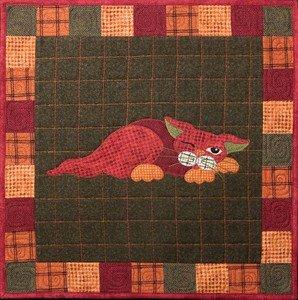 SQ11 - Kit Garden Patch Cats -Yammy Cat Block 11