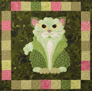 SQ14 - Garden Patch Cats - Catus Romanus Block 14