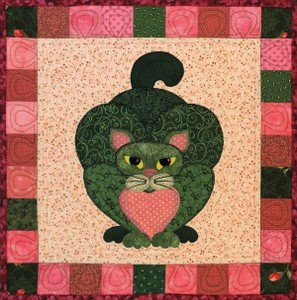 SQ18 - Garden Patch Cats -Brussels Cat Block 18