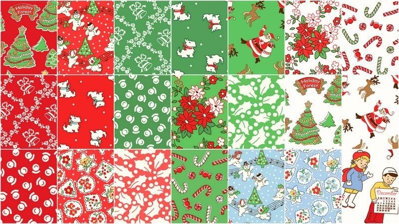 2 1/2 Strips Storybook Christmas by Windham Fabrics