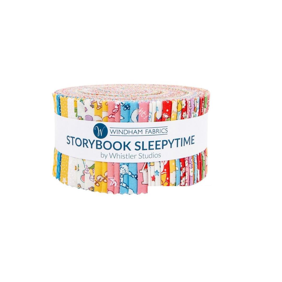 2 1/2 Strips Storybook Sleepytime by Windham Fabrics