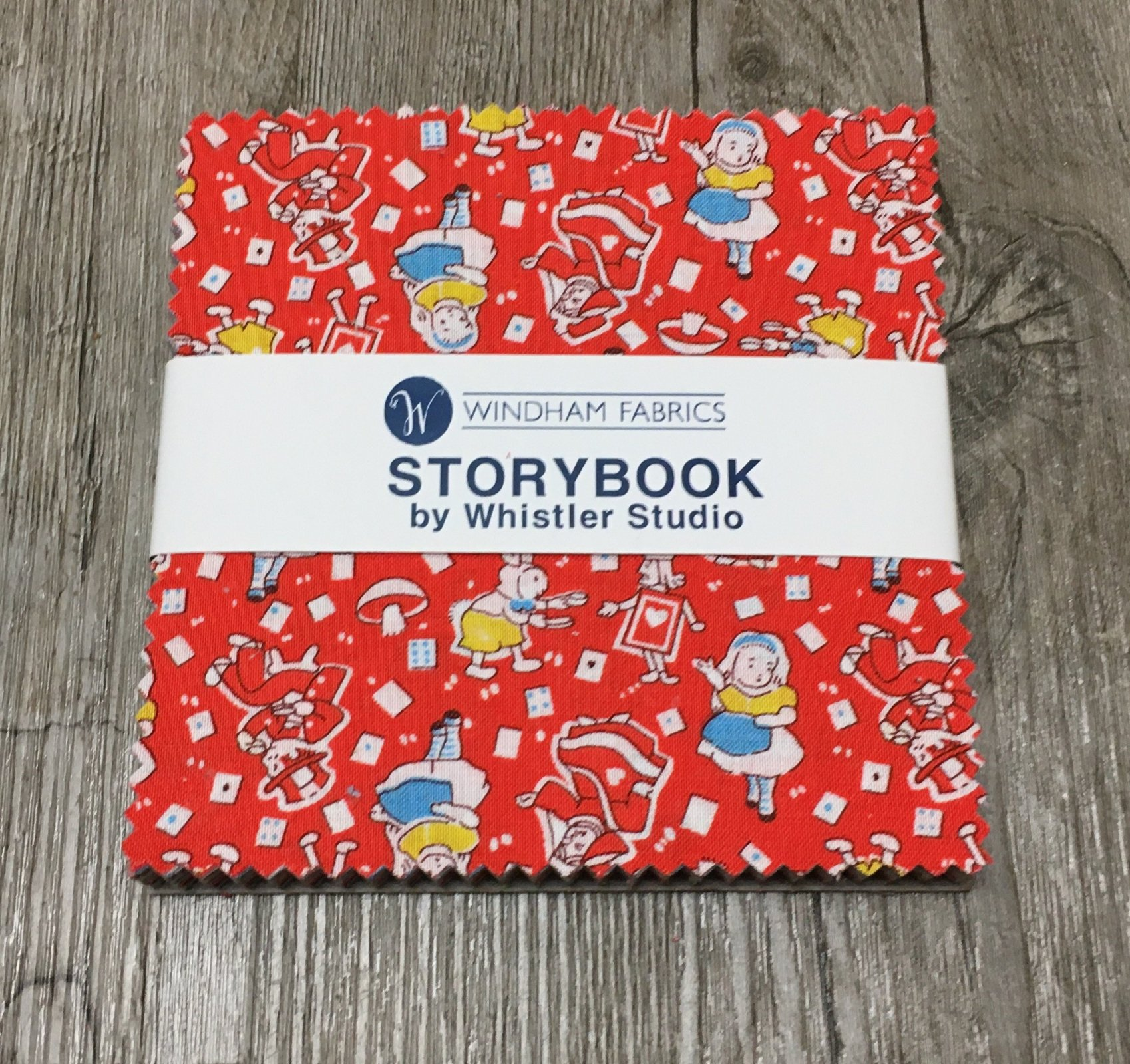 5 squares Storybook by Windham Fabrics