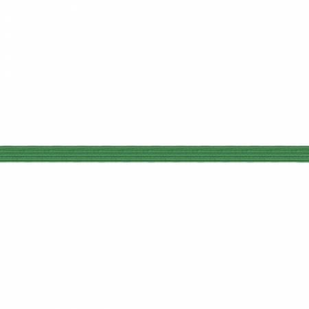 Green Flat Elastic 1/4 x 5 yards