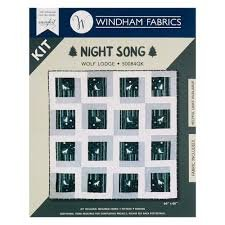 Night Song Wolf Lodge Quilt Kit 50084QK