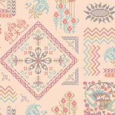 XXAH02 Cream LouLouThi Needleworks by Anna Maria Horner