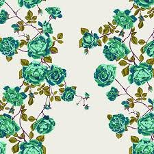 Anna Maria Horner Floral Retrospective PWAH117 Social Climber Lichen