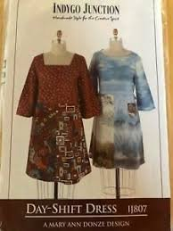 Day-Shift Dress Pattern by Indygo Junction