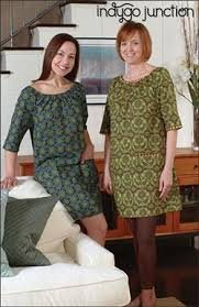 Audrey's Afternoon Dress Pattern by Indygo Junction