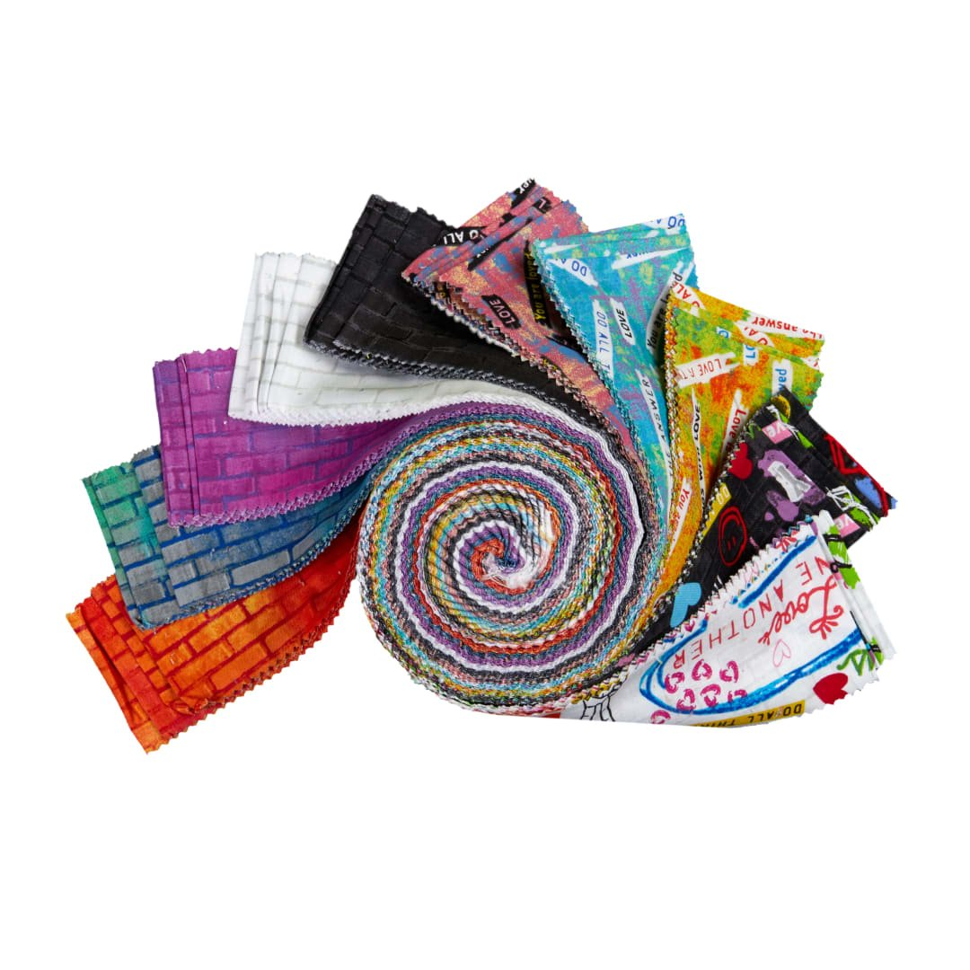 2 1/2 Strips Unstoppable by Windham Fabrics