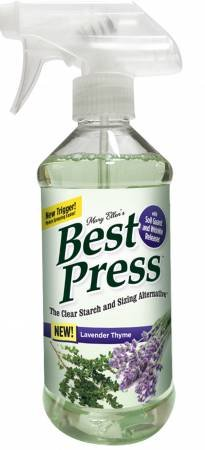 Best Press Spray Starch Lavender Thyme 16.9 oz