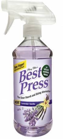 Best Press Spray Starch Lavender Vanilla 16.9 oz