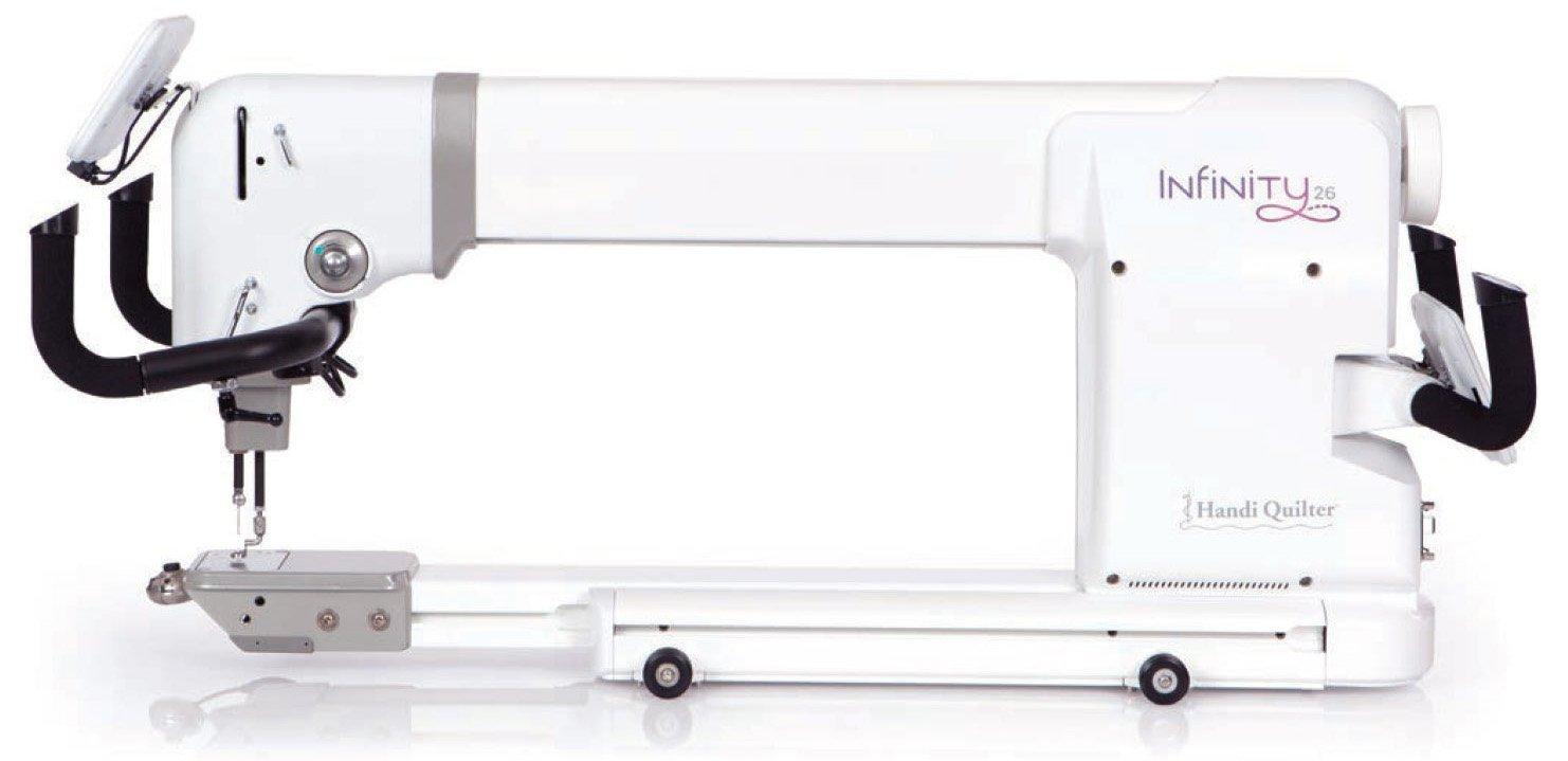 HQ Infinity Longarm w/12' frame w/ Pro-Stitcher and PS Designer